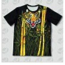 Индивидуальная дизайнерская сублимационная печатная футболка, трехмерная сублимационная футболка