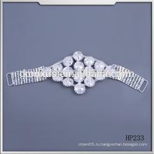 Мода Кристалл горный хрусталь аппликация бикини купальники Соединители