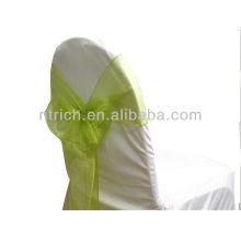 пояс стул органза кристалл Sage зеленый, фантазии моде обратно, завязать галстук-бабочку, узел, Чехлы на стулья свадьбы и скатерть