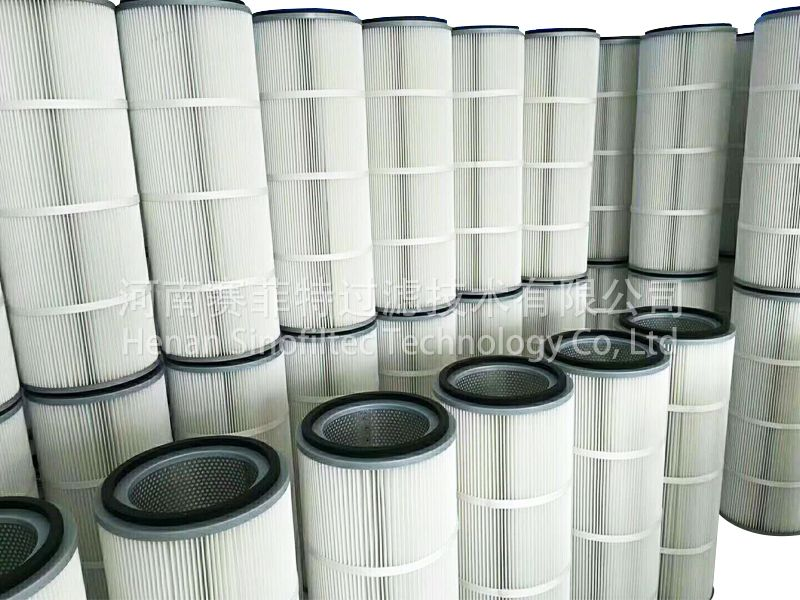 Air Filter Pleated Cylinders