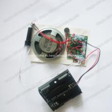Módulo grabable con sensor de movimiento, chip de voz