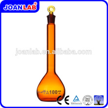 JOAN Perex Amber Color Laboratory Glassware Volumático Flask Fabricante