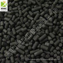 Carvão ativado extrudido de 4mm para uso em Purificação do Ar