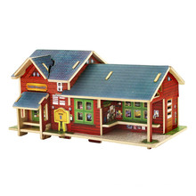 Wood Collectibles Toy for Global Houses-Norway Store
