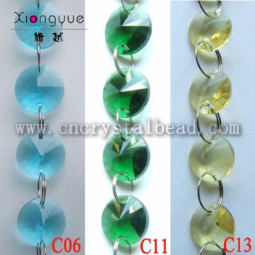 Kronleuchter Crystal Runde Perlen Kette