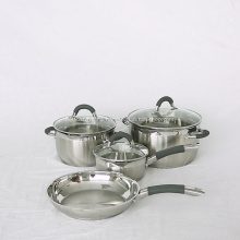 Stainless Steel Camping Casserole Sets