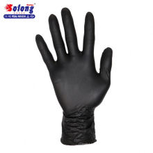 So long tattoo S/M/L/ 100 pcs authorized black nitrile sterile disposable tattoo gloves