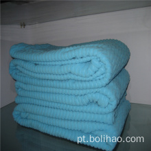 Tela anti-pilling do jacquard do velo polar