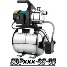 (SDP600-3S-CS) Casa Jardim Jet Booster, bomba de água com tanque de escorvamento