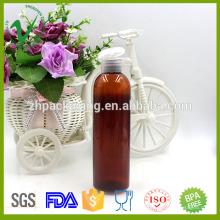 Novo cilindro de design garrafas de cosméticos vazias 120ml para embalagem de loção
