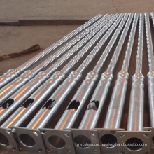 factory direct supply galvanized customized steel road/street lighting poles with factory price