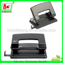 Best selling 30 sheets office standard paper puncher manual metal hole punch
