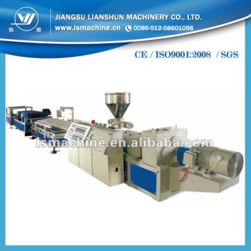Máquina para fazer tubos de plástico PVC