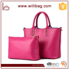 Latest Fashion Grace Leather Handbag Women Handbag Set