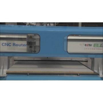 1300 * 2500mm portique cnc machine de découpe / cnc routeur pour porte d'armoires de cuisine en bois