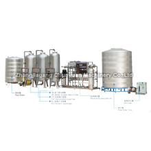 Ligne de Production complète eau traitement système