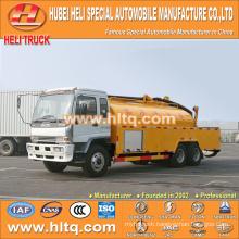 Japan technology FVZ 6x4 16000L pressure washing truck 280hp engine good quality