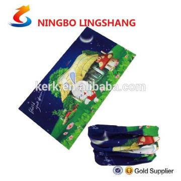 100% Polyester Multifunction customer design tube bandana