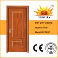Puertas de dormitorio de madera de alta calidad