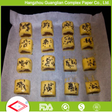Silicone Treated Paper Sheet for Cookie Baking