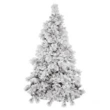 Snowy Artificial Christmas Tree with Decoration Glass Craft Christmas Light (TU75.300.00)