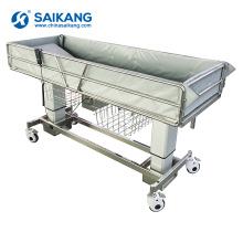 SK005-10A Medical Appliances Multifunction Electric Hospital Bath Bed