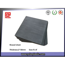 Black Ricocel Sheet with Size 1220X2440mm