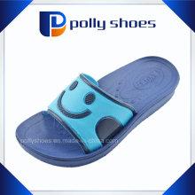 Newest Designs Smile Shape Indoor Summer Kids Slippers