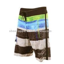 Shorts de placa homens personalizados por atacado 2013