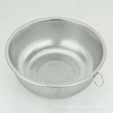 mini round stainless steel vegetable rice fruit mesh strainer colanders basket
