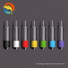 EU warehouse full ceramic coil 0.5ml empty vaporizer pen cartridges AG03 all glass 1ml lead free cartridge 510 cbd oil