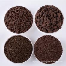 Areia de manganês de alta qualidade Remoção de ferro e manganês das águas subterrâneas