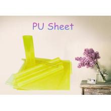 Hoja transparente de PU / Láminas de polipropileno