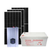 25 Years Warranty Solar System Power Wall LiFePO4 Battery 5Kw 7Kw 10Kw Solar Panel System Home Solar Energy Systems