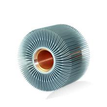 Высококачественный экструдированный алюминиевый профиль радиатора для светодиодов
