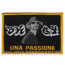 UNA Passione Embroidered Emblems