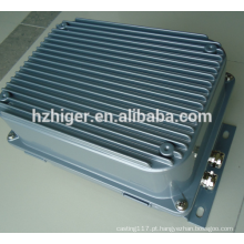 Peças CNC de alumínio die casting caixa elétrica à prova de choque