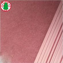 pink inflaming retarding MDF fireproof MDF sheet