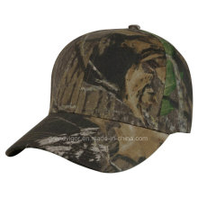 Flex Fitted Camouflage Baseball Cap with Elastic Band