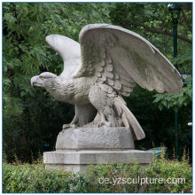 Stone Eagle Statue Für Outdoor Dekoration