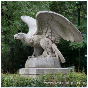 Stone Eagle Statue For Outdoor Decoration