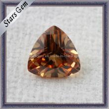 Trillian Cut CZ Gemstone для ювелирного кубического циркония