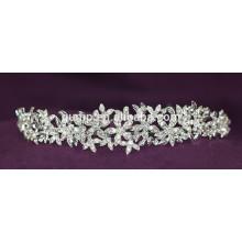 New Designed Custom Crystal Crown Wedding Tiara