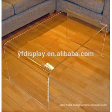 U shape Acrylic Coffee table