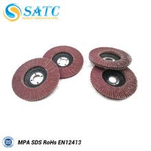 Fabricação de disco flap abrasivo de alta qualidade com boa qualidade