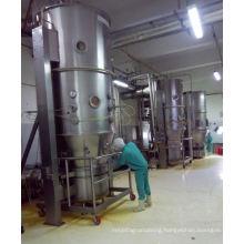 2017 FL series boiling mixer granulating drier, SS fluid bed coating principle, vertical fluid bed dryer glatt