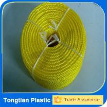 Corda do PE da corda do monofilamento do PE da corda da cor do PE de 6mm-26mm