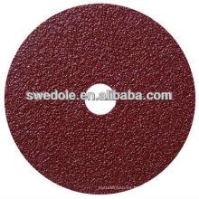 tasa máxima de utilización 80m / s disco de fibra para pulir y pintado