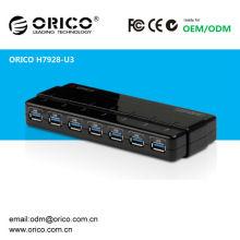 Échangeur USB à grande vitesse 7ports USB3.0