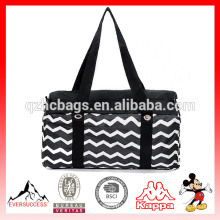 Nouveau sac de blanchisserie de transport de tendance avec le sac à linge de courroie d'épaule de 2 pouces